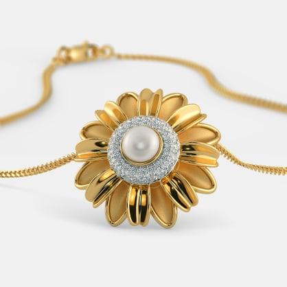 The Hema Floral Pendant