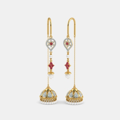 The Luxurious Allure Sui Dhaga Earrings
