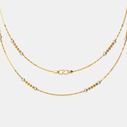 The Aanvi Gold Chain
