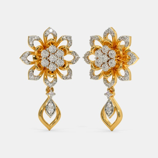 The Afza Drop Earrings