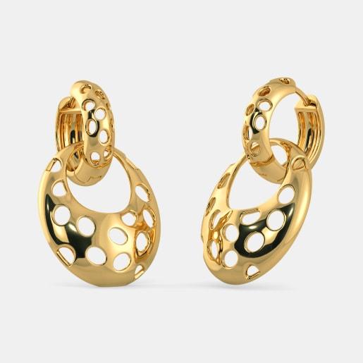 The Lea Detachable Hoop Earrings