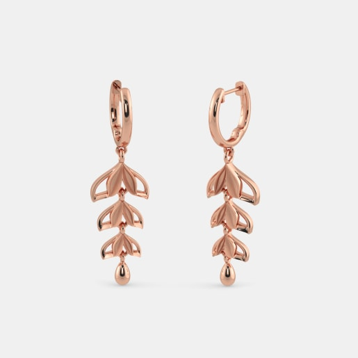 The Nava Roseate Drop Earrings