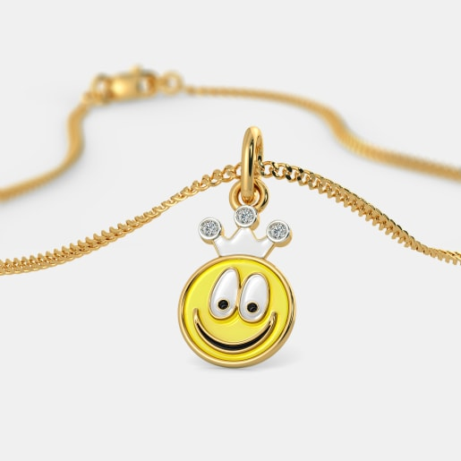The Smiley Baby Pendant For Kids