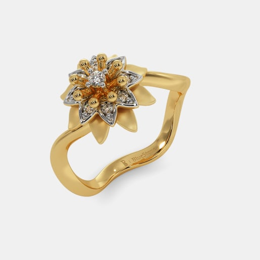 The Lavishi Floral Ring