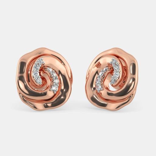 The Winter Rose Earrings