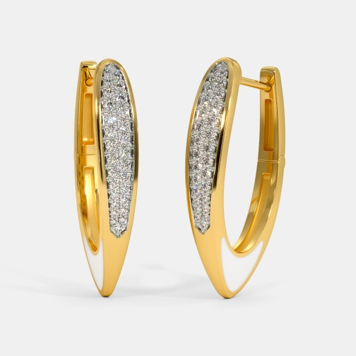 The Sarisa Hoop Earrings