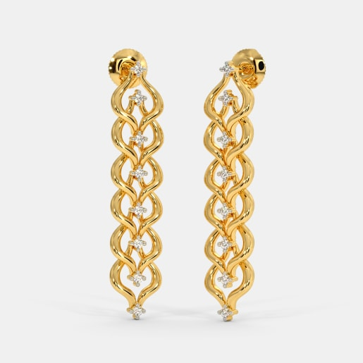 The Whirl Drop Earrings