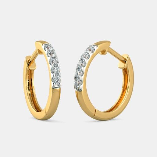 The Sandrea Hoop Earrings