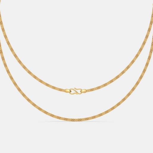 The Advika Gold Chain