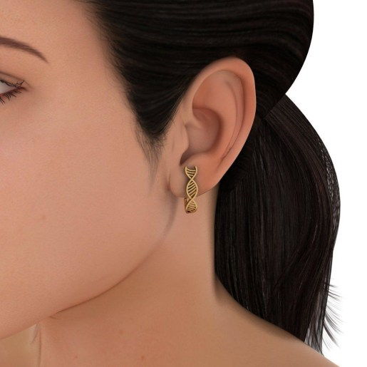 The Influential Structure Hoop Earrings