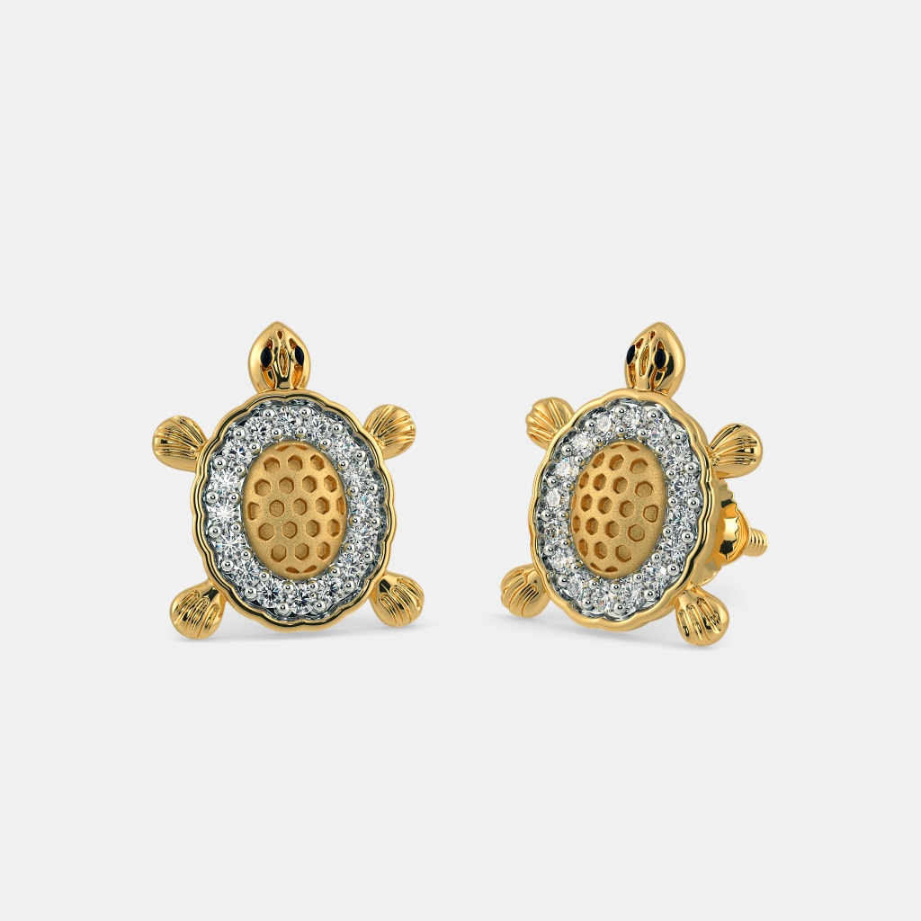 49e9e4ae736 The Tortoise Earrings