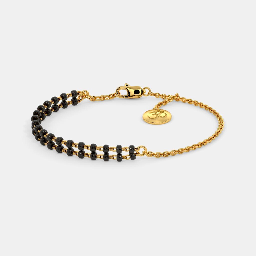 The Eliza Mangalsutra Bracelet