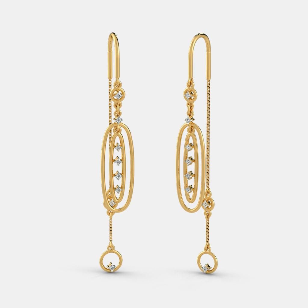 The Ovate Opulence Earrings