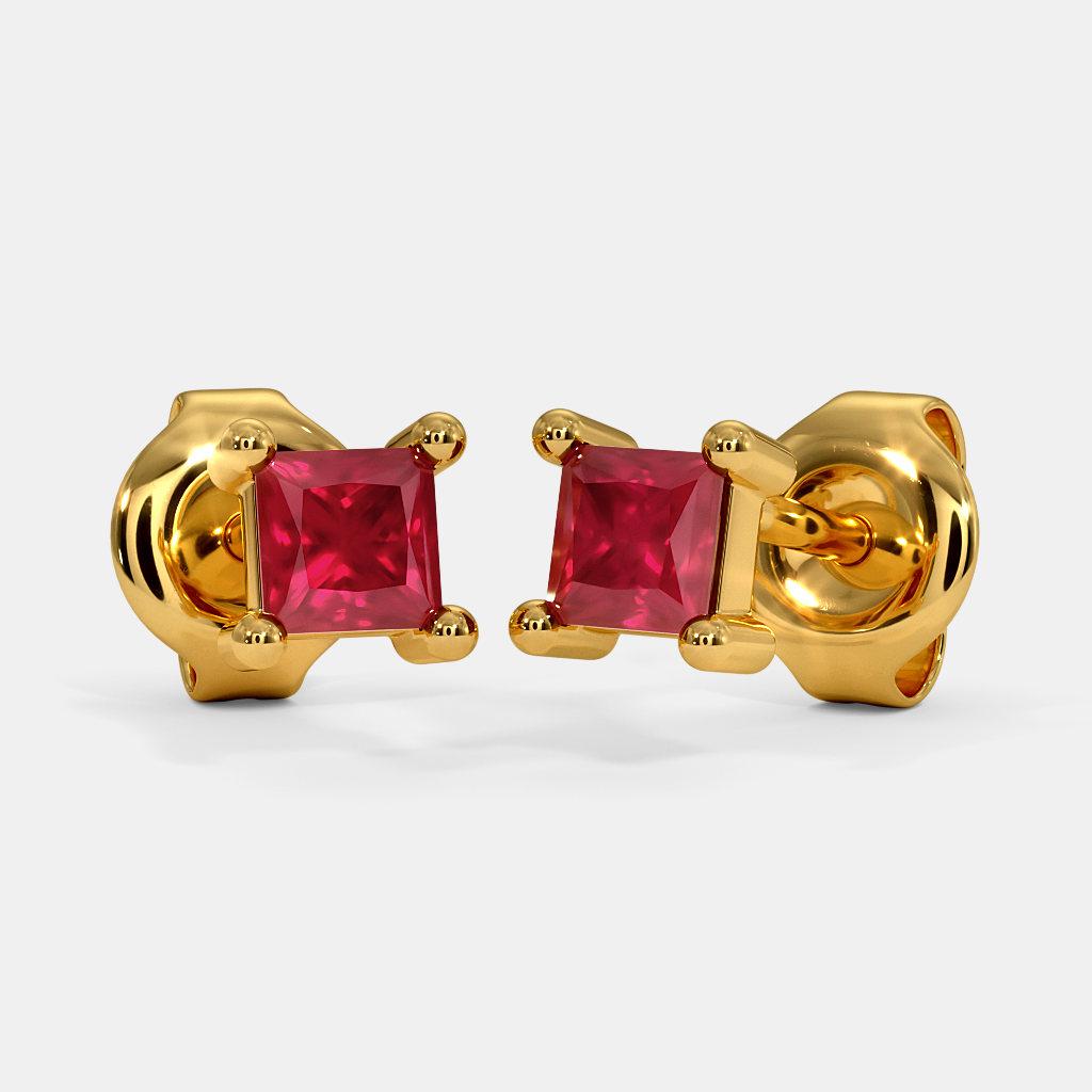 The Kahli Multi Pierced Stud Earrings