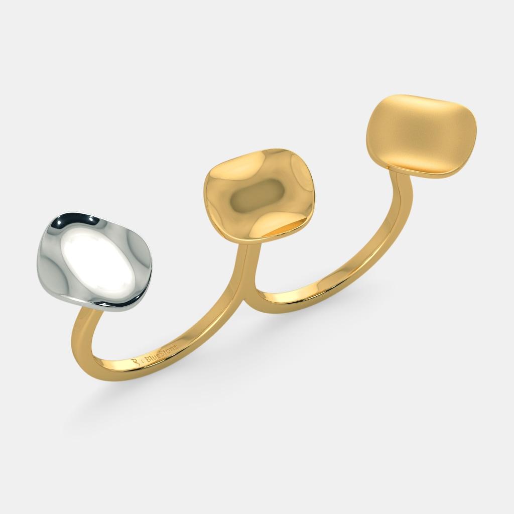 The Endear Two Finger Ring by Manasi Kirloskar