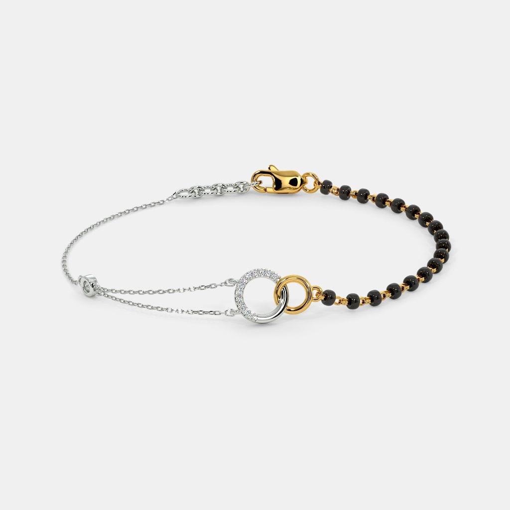 The Bonded Link Mangalsutra Bracelet