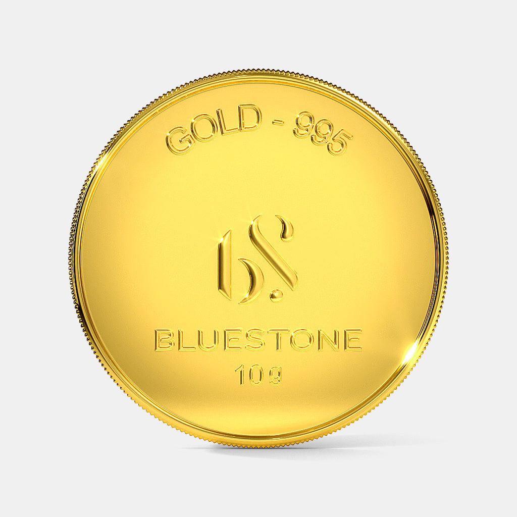 10 gram 24 KT Gold Coin