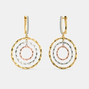 The Pierre Threetone Drop Earrings