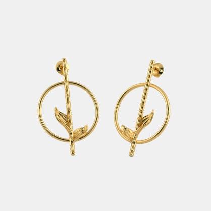 The Bambuk Stick Stud Earrings