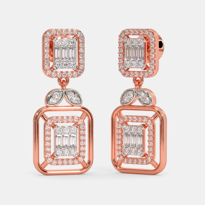 The Amalita Bridal Drop Earrings