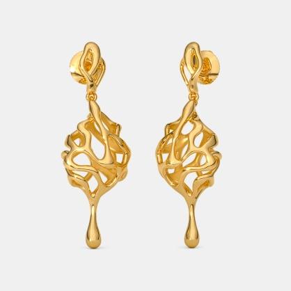 The Fluxure Drop Earrings