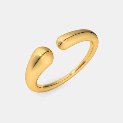 The Flowie Top Open Ring