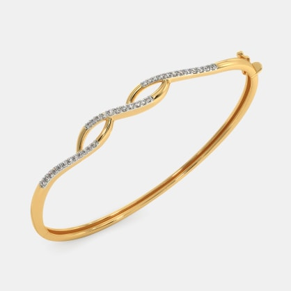 The Evita Oval Bangle