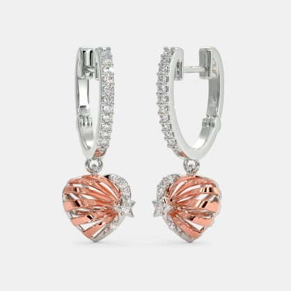 The Radiant Star Huggie Earrings