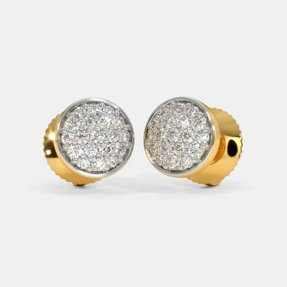 The Yael Pave Stud Earrings