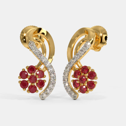 The Aarusha Stud Earrings
