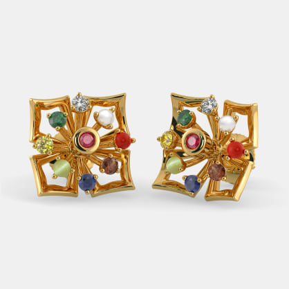 The Paksha Stud Earrings