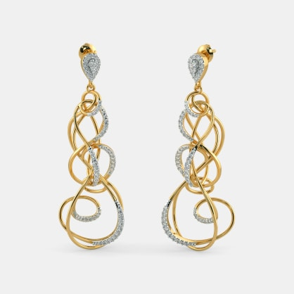 The Crescendo Statement Drop Earrings