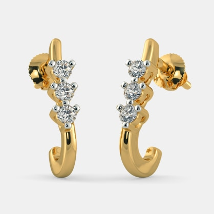 The Eleen J Hoop Earrings