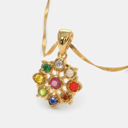 The Nootan Pushp Pendant