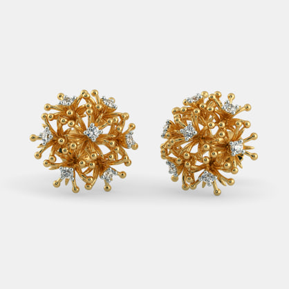 The Palash Stud Earrings