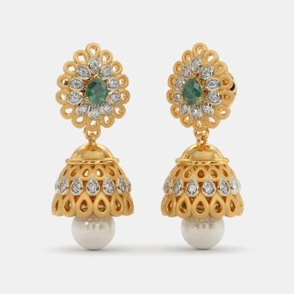 The Regal Mayura Jhumka