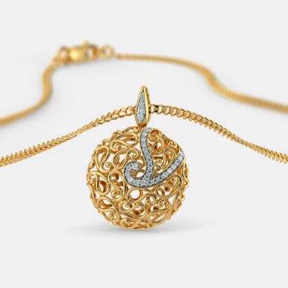 The Anshika Paisley Pendant