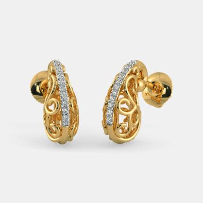 The Aasrita Paisley Stud Earrings