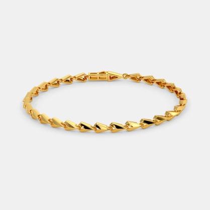 The Chiselled Link Tennis Bracelet