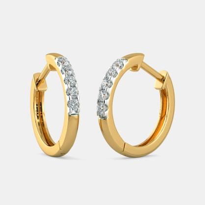 The Sandrea Hoop Earrings