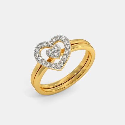 The Allied Heart Stackable Ring