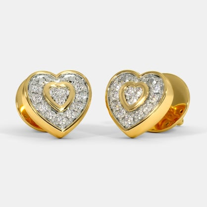 The Mini Heart Stud Earrings