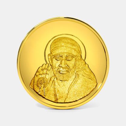 20 gram 24 KT Saibaba Gold Coin