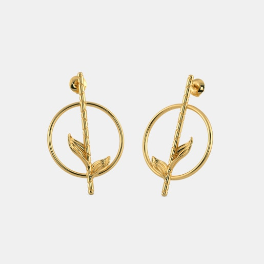 The Bambuk Stick Stud Earrings