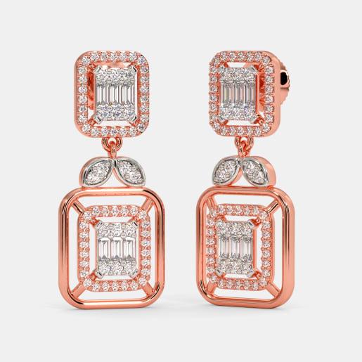 The Amalita Bridal Drop Earrings