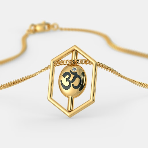 The Om Swastik Pendant