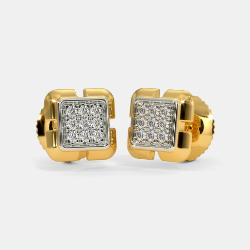 The Vance Pave Stud Earrings