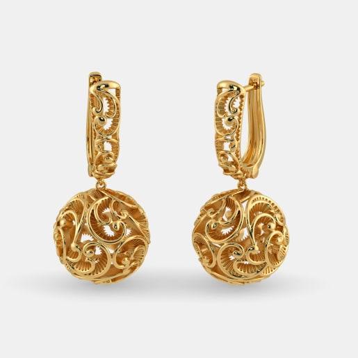 The Vibhuti Drop Earrings