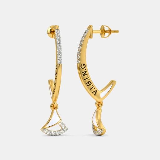 The Aileen J Hoop Earrings