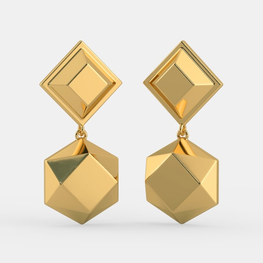 The Ingot Axis Earrings